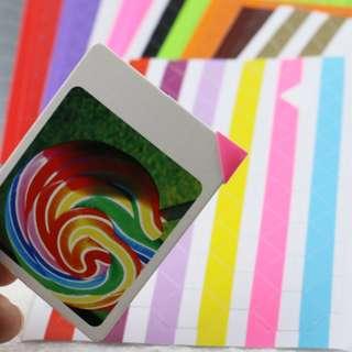 [INSTOCKS] Polaroid Photo Edge Sticker