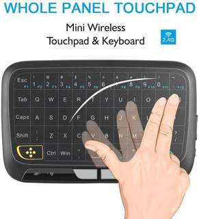 Touchpad & Keyboard