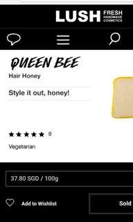 Lush Queen Bee