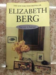 "New York Times Bestseller ""Never Change"""