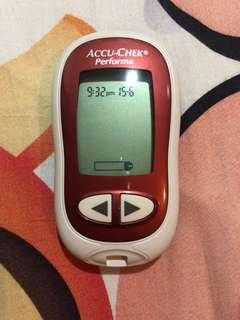 Accu chek device