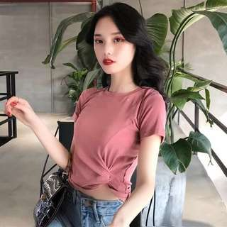 Glimmer Pink Top