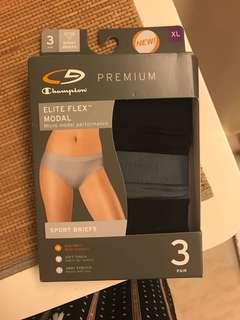 Champion underwear 一包3條裝(XL)