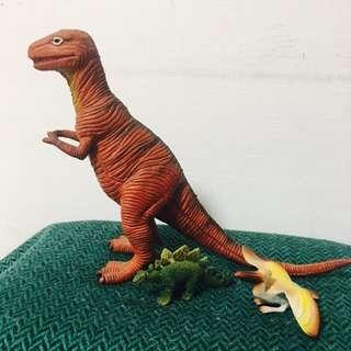🚚 丨復古 恐龍精緻公仔丨