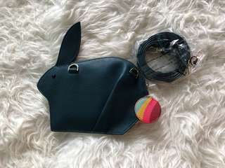 Paul Smith rabbit shaped purse