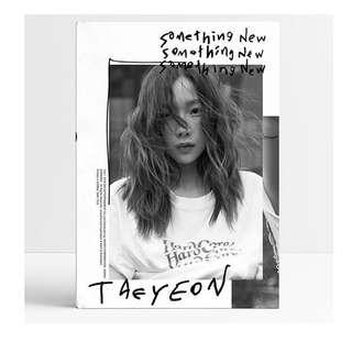 [PO]TAEYEON SOMETHING NEW ALBUM