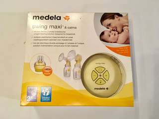 Medela Swing Maxi & Calma Double Electric 2-Phase Breastpump