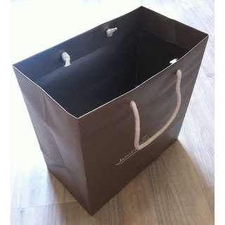 (半價) JAEGER-LECOULTRE (L) Paper Shopping Gift Bag 紙袋 禮物袋 (Half Price)