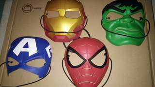 Avengers Kids Masks Marvel Ironman Captain America Hulk Spiderman