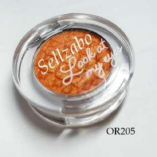 Used Orange Eyes Shadows : Etude House #OR205 Shimmering Eyeshadows Eyesshadows Colour Makeup Cosmetics Beauty Sellzabo