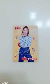Twice Mina銀簽卡
