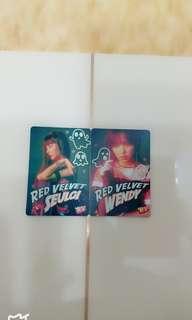Red Velvet 夜光卡 $10@1