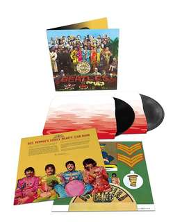 (vinyl record) Sgt pepper Lonely Heart Club Band 50th anniversary edition