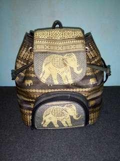 Small Elephant Designed Bag (For sale)
