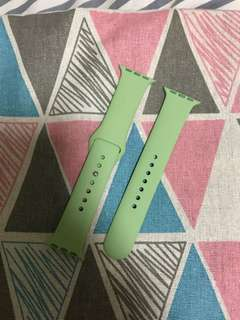 100%  Original 42mm Apple Watch mint green band - 薄荷綠色錶帶