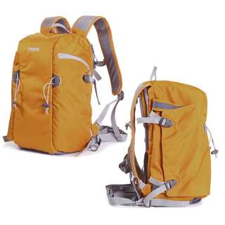 LARGE CAPACITY NYLON WATERPROOF ANTI THEFT MOUNTAINEERING BACKPACK BAG WITH FRONT OPEN FOR DSLR 25.00 x 20.00 x 41.00 cm