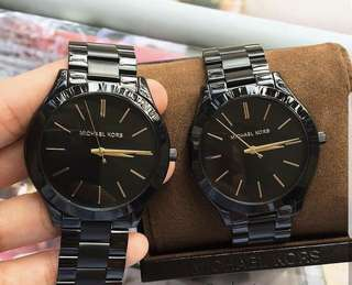 MK BLACK AUTHENTIC WATCH