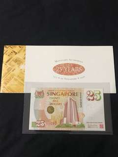 Commemorative $25 With book