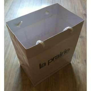 (半價) LA PRAIRIE (L) Paper Shopping Gift Bag 紙袋 禮物袋 (Half Price)