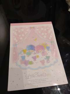 Little Twin Star Memo Pad