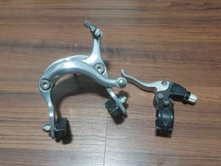 Saccon bicycle brake calipers + generic lever