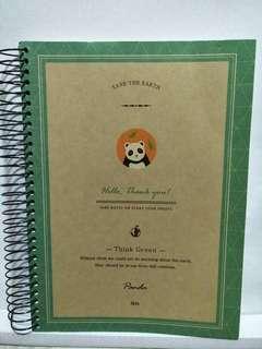 B5 Ringed Notebook