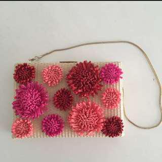 Kate Spade Flower Clutch. Brand New!!