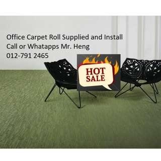 Karangan Office Carpet Roll Call Mr. Heng 012-7912465