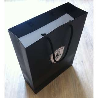 (半價) LAMBORGHINI Paper Shopping Gift Bag 紙袋 禮物袋 (Half Price)