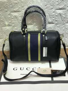 Gucci Boston Leather
