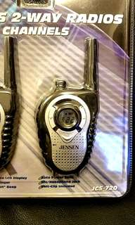 👍全新 'Jensen' 2 Mile 對講機/walkie talkie (pair)***