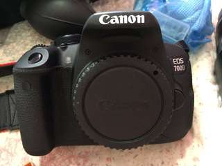 Canon 700D (Best Price Nego)