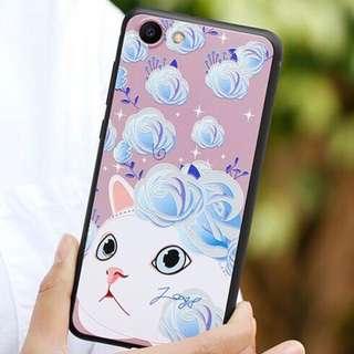 Cat Pink Blue iPhone Case iPhone 6/6s 7/8