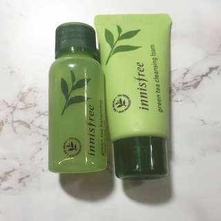 Innisfree 綠茶 茶樹 小樣 化妝水