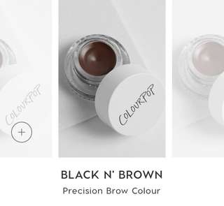 [SALE❗️INSTOCK] COLOURPOP BLACK N' BROWN PRECISION BROW COLOUR POP