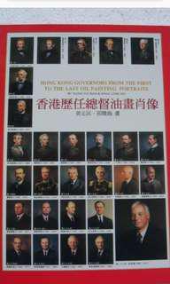 香港歷任港督poster