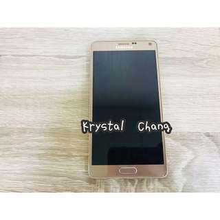 Samsung Galaxy Note4空機 金色 面交 二手 公司貨 Note4手機 九成新 Note4空機 三星