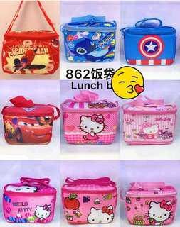 Lunch box cartoon character