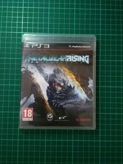 #KayaRaya PS3 Game-  Metal Gear Rising Revengeance