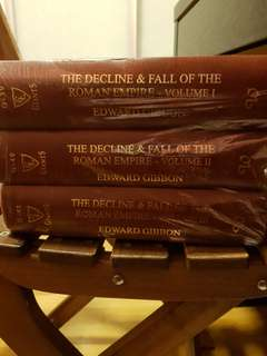 The decline and fall of the Roman empire- Edward Gibbon
