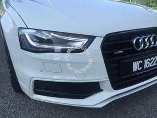 Audi a4 facelift head lamp