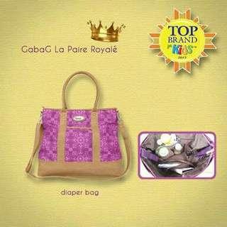 Gabag La Paire Series La Paire Royale tempat asi keren diaper bag premium