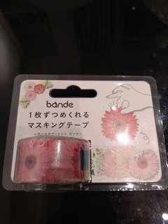 Bande flower 200 stickers