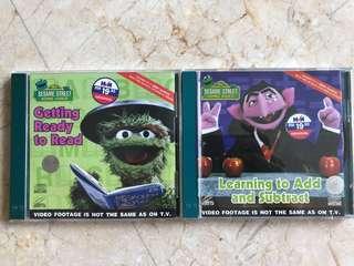 Sesame Street Educational VCDs