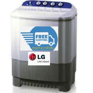 Brand New Free Shipping 6.0KG. LG Twin Tub Top Load Washing Machine Laundry Clothes Warranty