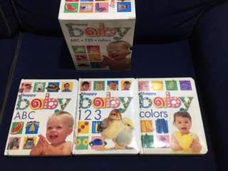 Happy Baby ABCs, 123s and Colors (educational books)