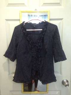 XL size Blue Blouse
