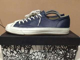 Converse JP Navy Egret Leather