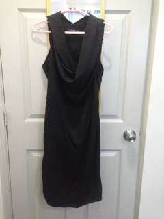 XL Philosophy Black Dress