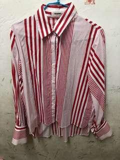 🚚 🇰🇷線條襯衫
